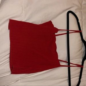 Pacsun red tube tank top